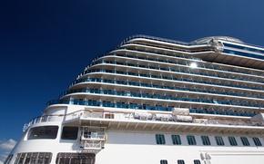 Picture ship, liner, cruise, Royal Princess