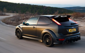 Wallpaper road, Ford, Focus, RS500