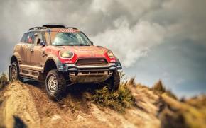 Picture Sand, Mini, Dust, Sport, Speed, Race, Dirt, Rally, Dakar, Dakar, SUV, Rally, 312, Dirty, X-Raid …