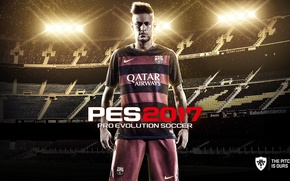 Picture sport, logo, stadium, Nike, soccer, Barcelona, player, Neymar, brazilian, uniform, Neymar da Silva Santos Junior, ...