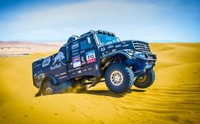 Picture Machine, Sand, Dune, Truck, Rally, Auto, Kapatnik, KAMAZ, Black, Master, Kamaz, Dakar, Kamaz Master, Dakar