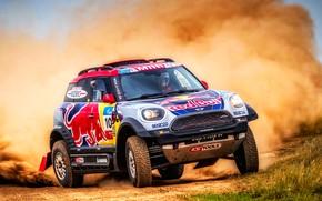 Picture Mini, Dust, Desert, Speed, Race, Rally, SUV, Rally, 105, X-Raid Team, MINI Cooper, Silk road, …