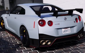 Picture Nissan GT-R, Turn 10 Studios, Force 7
