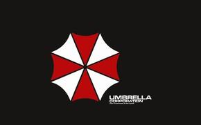 Picture logo, game, Resident Evil, Umbrella, Biohazard, Umbrella Corp., japonese, Umbrella Co., Umbrela Corporation