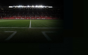 Picture wallpaper, sport, stadium, football, Manchester United, Old Trafford