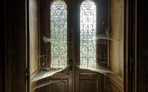 Wallpaper web, house, the door