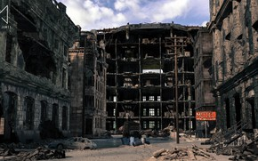 Picture motel, Failed State, city destroyed