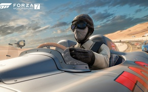 Picture car, game, race, speed, flag, Forza Motorsport, Forza Motorsport 7