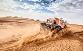 Picture Sand, Auto, Sport, Machine, Orange, Toyota, Hilux, Rally, SUV, Rally, Sport, Toyota, Hilux, The roads, …