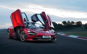 Picture McLaren, supercar, racing track, 2018, 720S