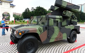Picture military, army, american, US Army, missile, High Mobility Multipurpose Wheeled Vehicle, Stinger, military vehicle, Humvee, …