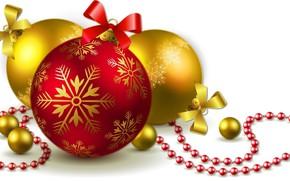 Picture Balls, Decoration, Christmas balls