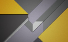 Picture line, abstraction, geometry, design, color, material