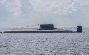Picture sea, Navy, submarine, Russia, Project 941