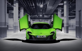 Picture McLaren, supercar, front view, 650S