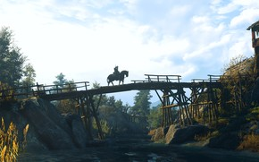 Picture bridge, The Witcher, The Witcher 3: Wild Hunt, The Witcher 3 Wild Hunt