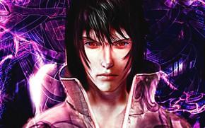 Picture Sasuke, Naruto, anime, sharingan, ninja, manga, Uchiha Sasuke, shinobi, Naruto Shippuden, doujutsu, japonese, anian