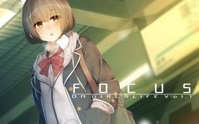 Picture look, anime, girl