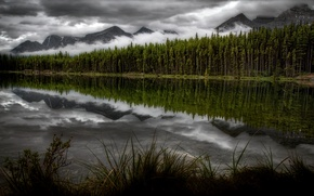 Picture canada, reflections, Herbert Lake