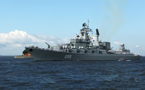Picture Navy, missile cruiser, the project 1164, Marshal Ustinov