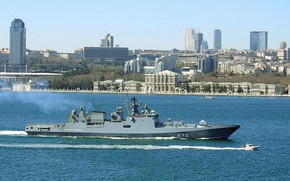 Picture frigate, the Bosphorus, the project 11356, Admiral Grigorovich