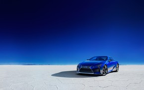 Picture Lexus, 2018, LC 500, Structural Blue