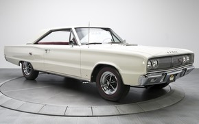 Picture 1967, White, Dodge Coronet, Muscle classic