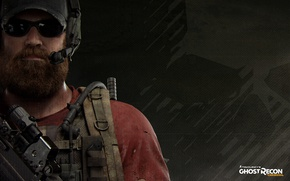 Picture gun, Ghost, soldier, weapon, man, rifle, Tom Clancy's, bulletproof vest, Nomad, Tom Clancy's: Ghost Recon …