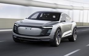 Picture car, Audi, Tron, Audi E Tron Sportback, Audi E Tron