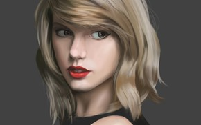 Picture look, girl, figure, Taylor Swift