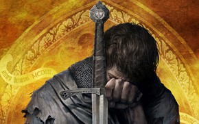Wallpaper close-up, the game, warrior, art, knight, the middle ages, action, RPG, wallpaper., role, armour sword, ...