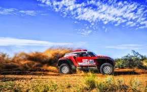Picture Red, Mini, Sport, Speed, Rally, Dakar, Dakar, Rally, Buggy, Buggy, X-Raid Team, 305, MINI Cooper, …