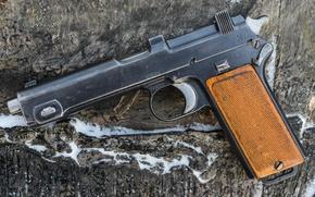 Wallpaper gun, production, self-loading, Steyr, 1912, Austria-Hungary, Steyr-Hahn