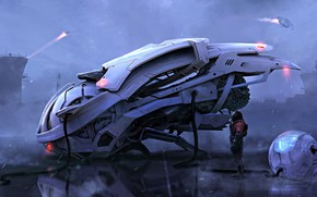 Wallpaper Joseph Diaz, ball, aircraft, Time-Space traveller, pilot