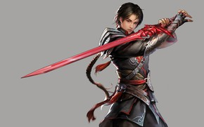 Picture fantasy, the game, sword, warrior, art, guy, Jianyachi L