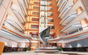 Picture the building, architecture, installation, Dayward Inc, One-Texture Environment