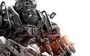 Picture cinema, gun, robot, mecha, weapon, movie, Transformers, film, Transformers: The Last Knight, The Last Knight