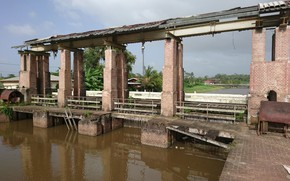 Picture Suriname, Paramaribo, Polder, Lookout
