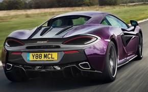 Picture McLaren, rear view, Coupe, 2018, SuperSports, Titanium, 570S