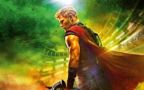 Picture Hulk, Ragnarok, Lightning, Warrior, Gladiator, Marvel, Thor, Idris Elba, God, Benedict Cumberbatch, Chris Hemsworth, Walt ...