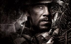 Picture Gun, Rifle, Wallpaper, Military, Mark Wahlberg, Man, Soldier, Look, Lone Survivor, Survivors, Navy SEAL