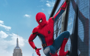 Picture Marvel Comics, Movie, Tom Holland, Spider-Man: Homecoming, Spider-man: the Return Home