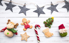 Picture cookies, Christmas, decor, toys, cookies