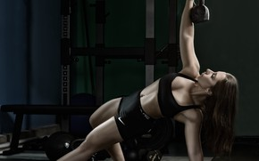 Picture workout, fitness, gym