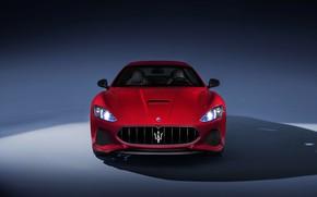 Picture car, Maserati, red, Maserati Granturismo