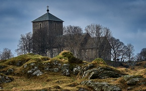 Picture Norway, Church, Norway, Rogaland, Avaldsnes