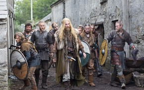 Picture axe, armor, weapon, man, knife, shield, warrior, Viking, powerful, strong, Vikings, spear, tv series
