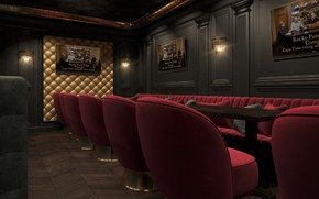 Picture furniture, interior, the room, Day-to-day routine, Karaoke Bar