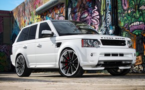 Picture Range Rover, with, Sport, supercharged