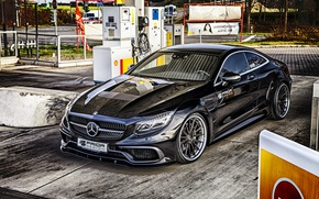 Wallpaper coupe, Mercedes, C217, S-Class, Prior-Design, Coupe, Mercedes-Benz